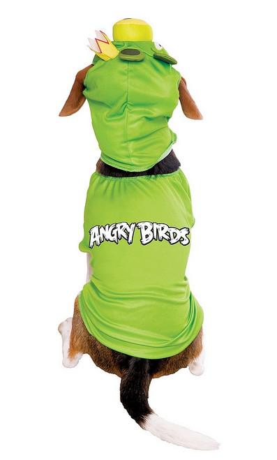 Costume pour Chiens du Roi Cochon des Angry Birds