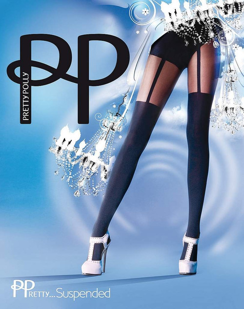 Pretty Polly Fantaisiste Mode Suspendu Collants