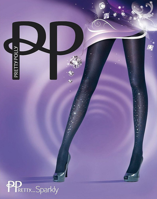 Pretty Polly Fantaisiste Mode embellies Or Collants