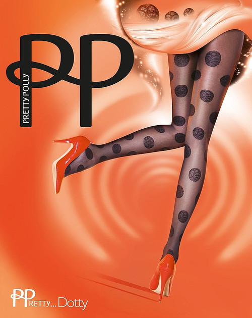 Pretty Polly Fabulous mode en dentelle Dotty Collants