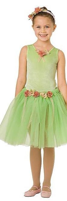 Costume de Ballerine Vert Lime