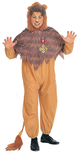 Costume Lion Peureux Adulte