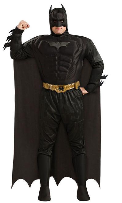Costume Deluxe de Batman Le Chevalie Noir pour Adulte Taille Plus