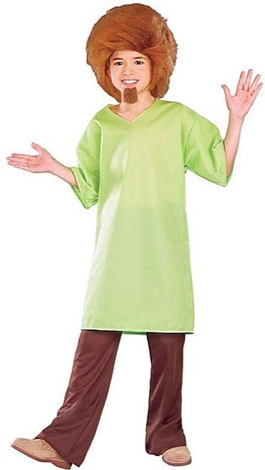Le costume du Shaggy Boy de Scooby-doo