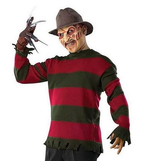 Pull en maille de Freddy Krueger