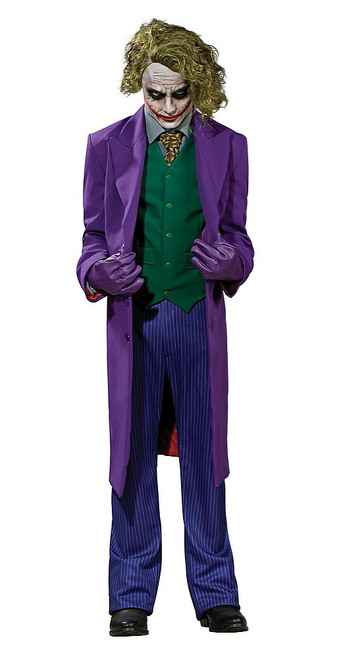 Costume du Joker - Batman Le Chevalier Noir - Edition Grand Heritage pour Adulte