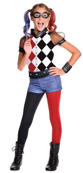 Costume Deluxe Harley Quinn Suicide Squad pour Enfant