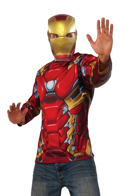 Costume Iron Man Kit Guerre civile Adulte