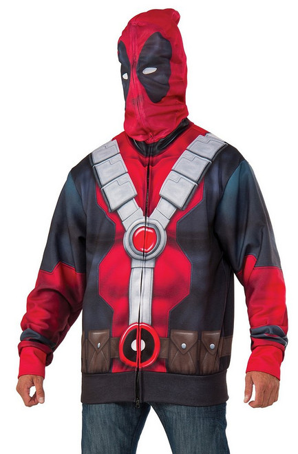 Sweat à capuche Deadpool Adulte