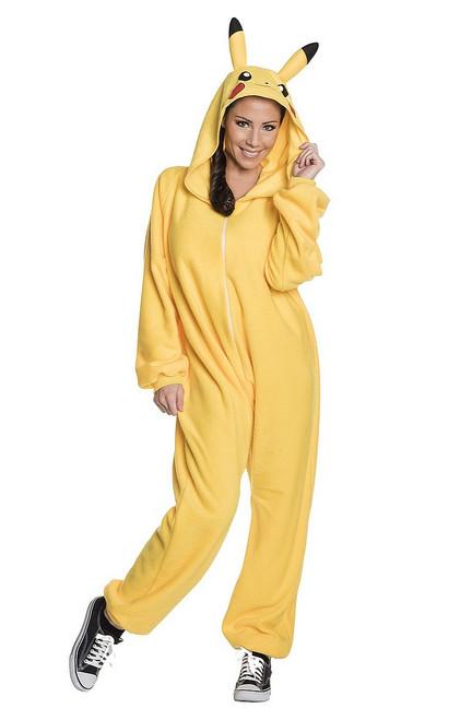 Costume Pikachu Onesie Adulte