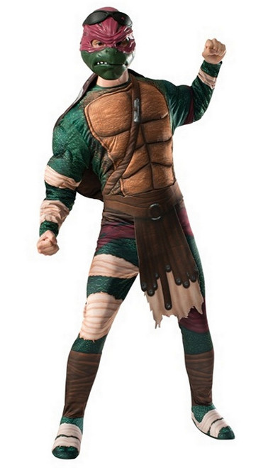 Costume Deluxe Raphael Adulte TMNT