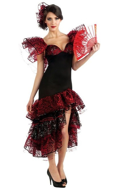 Costume de la Danseuse de Flamenco