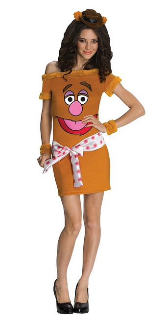 Robe de l'Ours Fozzie des Muppets