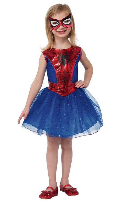 Costume de Spiderman pour fille