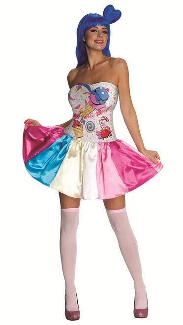 Costume de bonbons Kate Perry