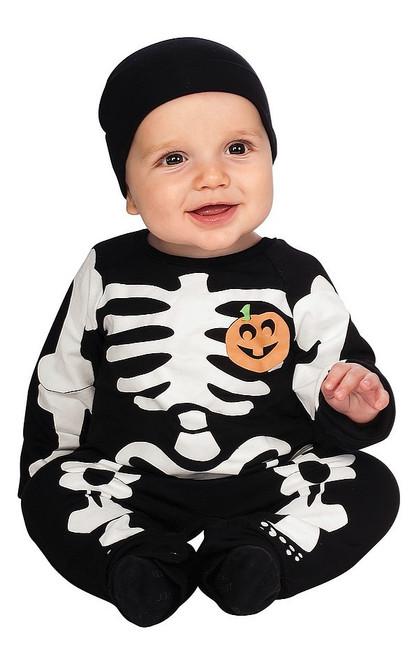 Costume Noir de Squelette