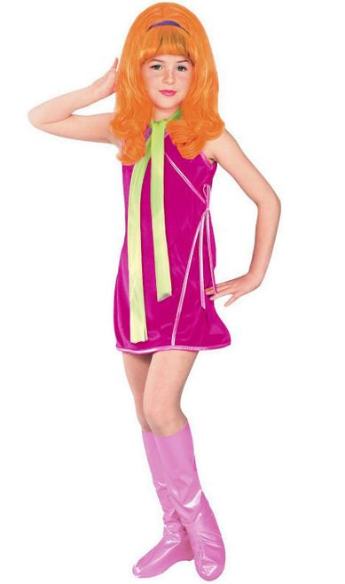 Costume pour fille de Daphné de Scooby-Doo