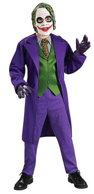 Costume Joker Batman Garcon
