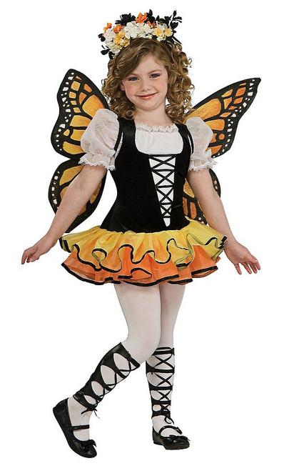 Costume pour Filles de Papillon Monarque