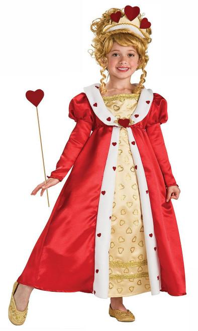 Costume de Princesse au cœur Rouge