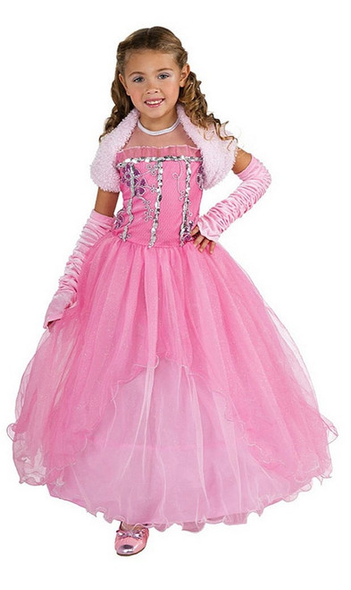 Costume de princesse shirley