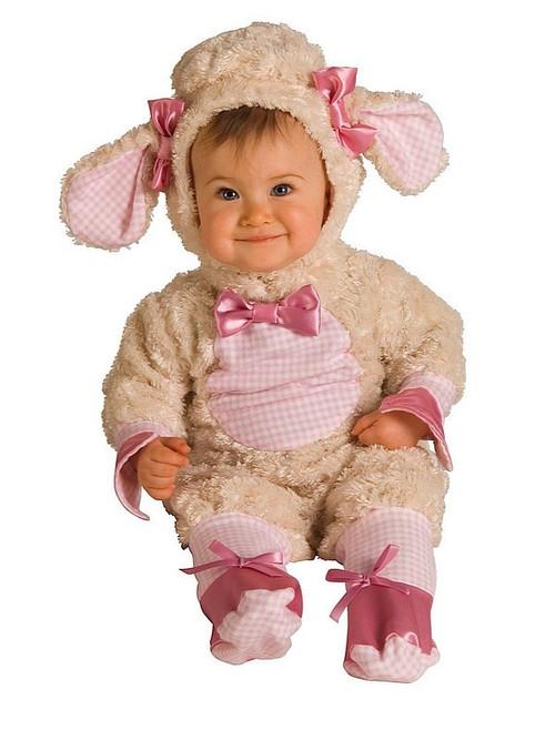 Déguisement de petit Agneau Mignon pour Bébé