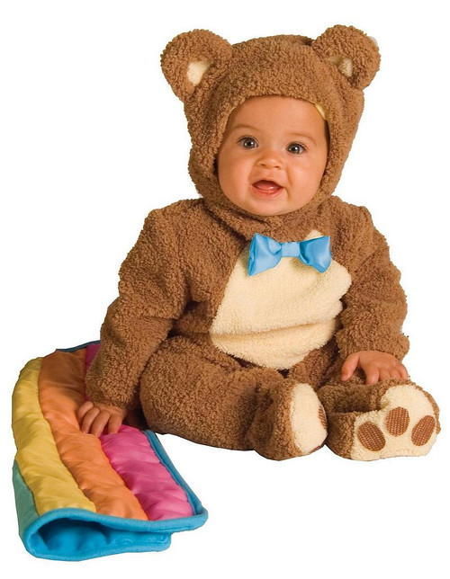 Costume d'ours avoine