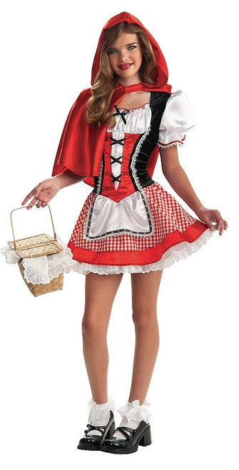"Costume de Chaperon Rouge ""Tween"""