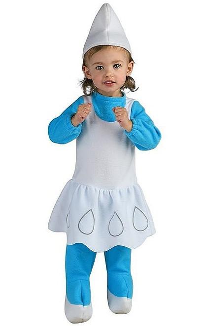 Costume de Schtroumpfette