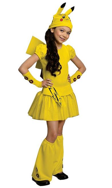 Costume de Pokemon pikachu Pour Filles