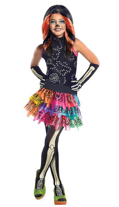 "Costume Monster High ""Skelita Calaveras"" pour Enfant"