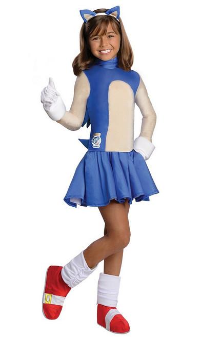 Costume de Sonic pour Filles