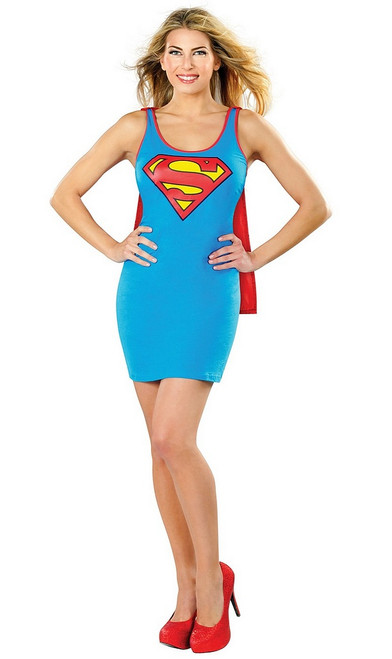 Robe Sans Manches de Supergirl