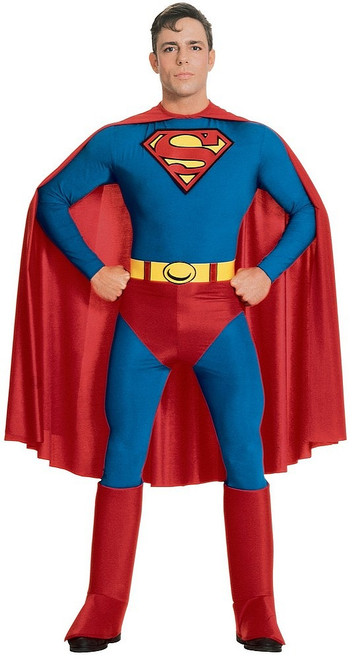 Superman Adult Deluxe Costume Muscle