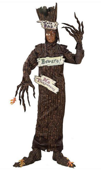 Costume d'arbre hanté