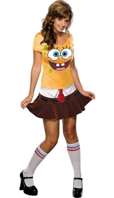 Costume éponge Bébé Femme