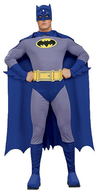 Costume Batman Gris pour Adulte