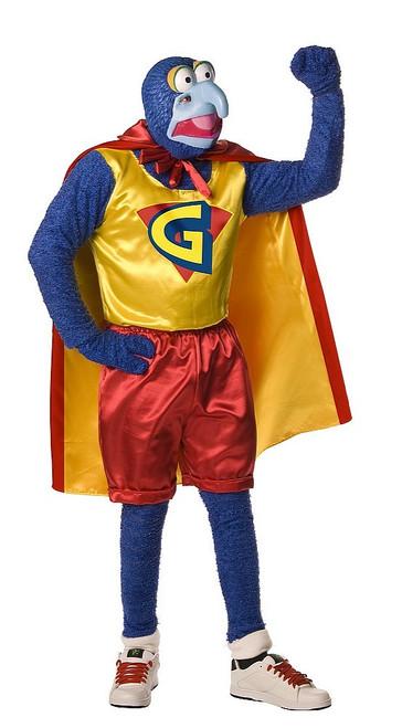 Costume pour Adultes de Gonzo des Muppets