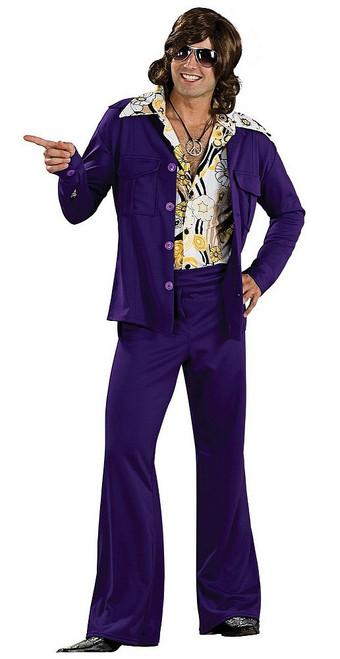 Costume Violet des annees 70