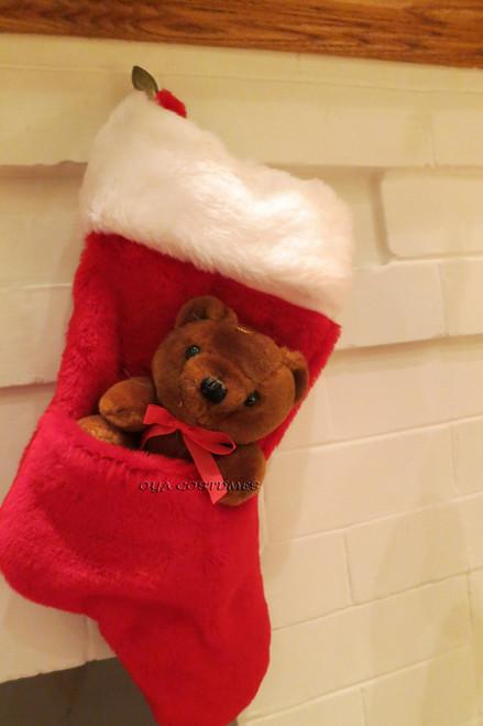 Chaussette Mignonne de l'Ours de Noël
