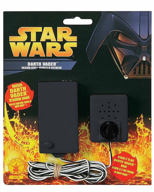 Dispositif de respiration Darth Vader