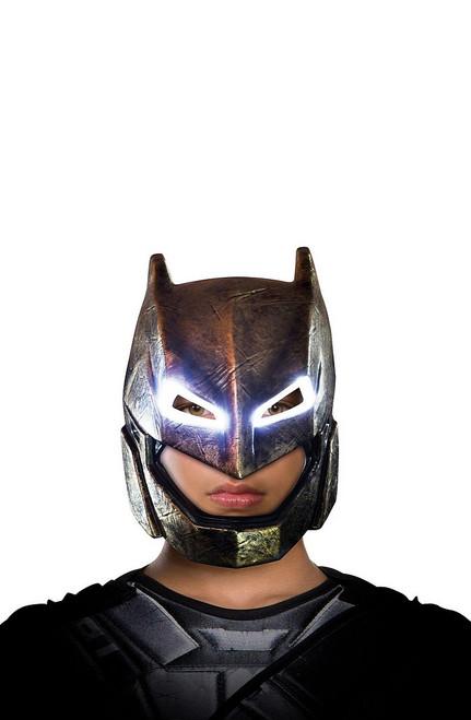 Masque de Batman sous armure pour Enfant