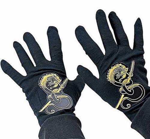Gants Noirs de Ninja pour Enfants
