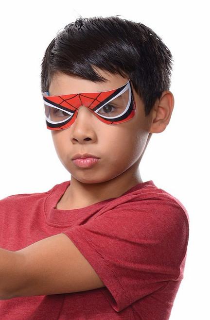 Yeux de caractères Spiderman enfants