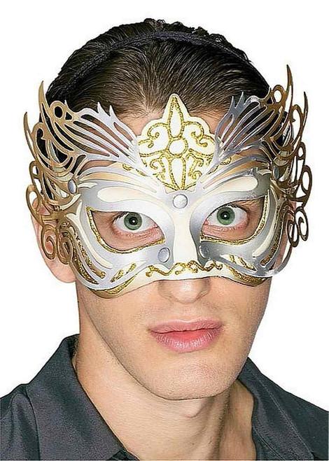 Masque Filigree Or et Argent