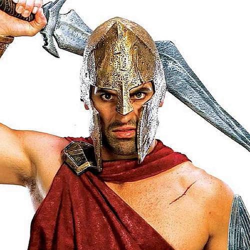 Deluxe Spartan Casque