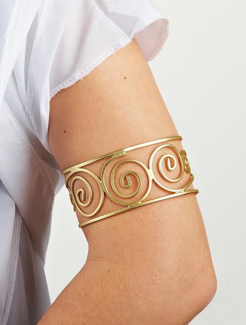 Manchette/Bracelet de la Reine de Sparte