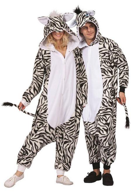 Zoé le Zebre Jumpsuit Adulte