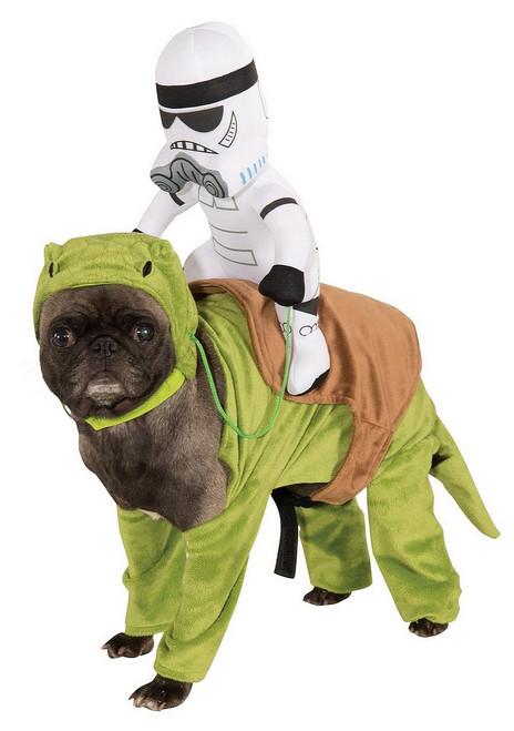 Costume Dewback  de Star wars pour chien