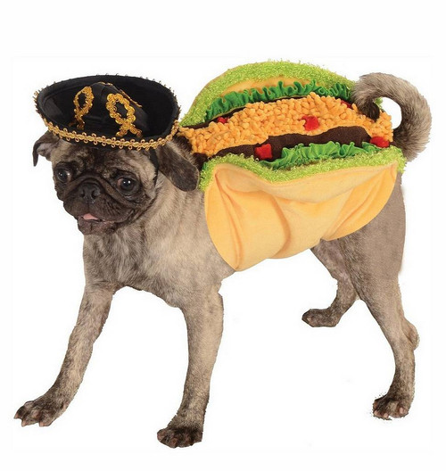 Costume de Taco pour Animal de compagnie